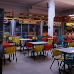 l'espace cafétaria du Cine SAS