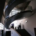 l escalier vu d en bas