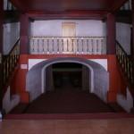 L'entrée de la salle du Cine Fenix