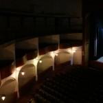 La salle et les balcons du Cine Fenix
