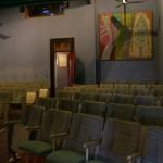 la salle colorée du Cinematografo