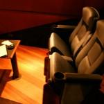 Les fauteuils de la salle de luxe de l'UVK de Larcomar