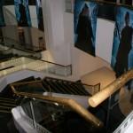 Escalier du Cine Bar Santa Barbara