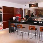 Le sushi-bar du Cine Colombia Andino