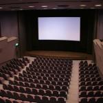 la salle vue de la cabine de projection