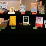 stand de livres au Cinema Bunkamura
