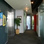 le dernier étage et ses salles de conférence