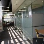 le couloir vers la salle de lecture