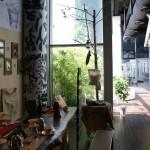 au 13ème étage : le grand café et la terrasse !