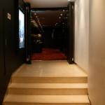 l'entrée de la salle du Ciné Chef