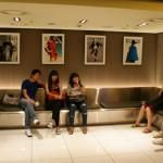 la salle d'attente du Movie Collage