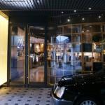 entrée du côté Ciné Café
