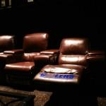 Les fauteuils de la salle VIP