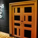 porte d'entrée de la salle 3