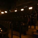 les fauteuils de la salle IMAX