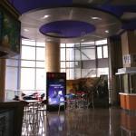 un des étages du cinéma