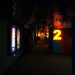 le couloir des salles
