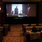 une des salles de luxe du cinéma ...
