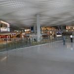 l'arrivée au terminal 2 de l'aéroport