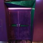 la porte de la salle verte