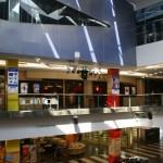 retour à la configuration habituelle : un multiplexe abrité par un mall