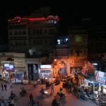 vue depuis le Jagdish Temple de nuit