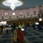 Le hall du Raj Mandir