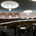 La hall du Raj Mandir avant la séance