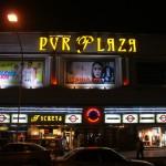 la façade du PVR Plaza