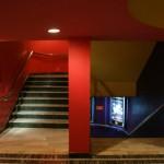 les couloirs colorés