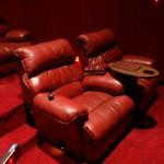 Les fauteuils de la salle Gold