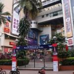 Pendant le Festival du Film Français au cinéma Fun Republic à Mumbai