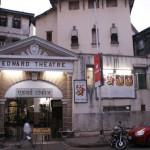 La façade du cinéma Edward
