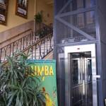 Escalier ET ascenseur de l'Arteplex