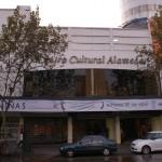 La façade du ciné Alameda
