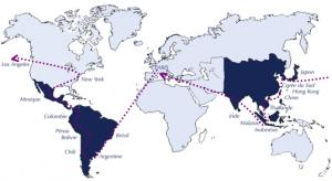 notre itinéraire pour les 10 mois à venir
