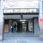 La façade du Cine Arequipa