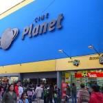 La façade du Cine Planet du centre historique