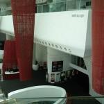le balcon du Satin Lounge