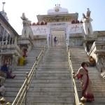 L'entrée du temple de jour