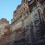 l'impressionnant fort de Jodhpur