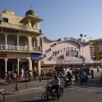 Arrivée au Raj Mandir