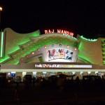 Le Raj Mandir de nuit