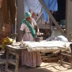 scène de vie dans les rues de Jaipur