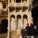 des gardiens du City Palace