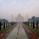 3 La découverte du Taj Mahal depuis la porte Ouest
